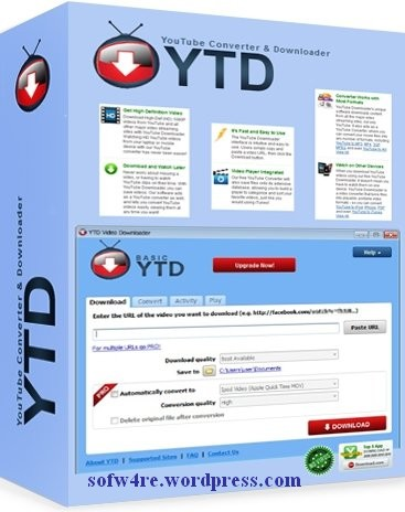 how to use ytd downloader